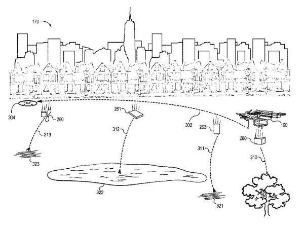 Amazon brevetta un drone che si autodistrugge