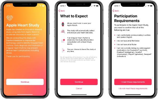 Apple Watch: lanciato uno studio per identificare i ritmi cardiaci irregolari