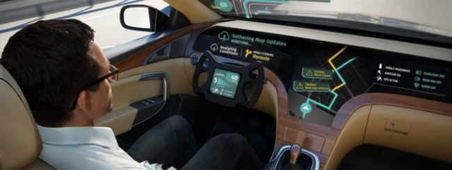 LG e HERE per supportare le auto a guida autonoma