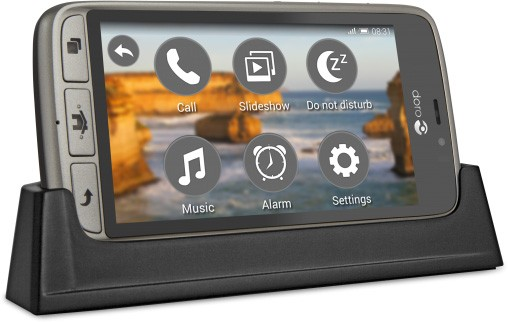 Lo smartphone Doro 8031
