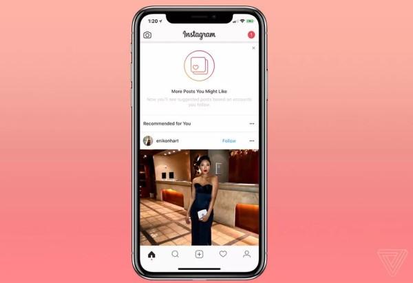 Instagram suggerirà nuovi contenuti da esplorare