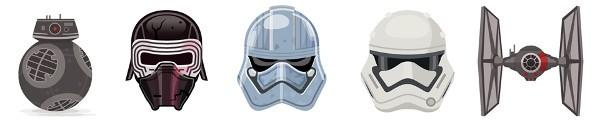 Skype, emoticon Star Wars