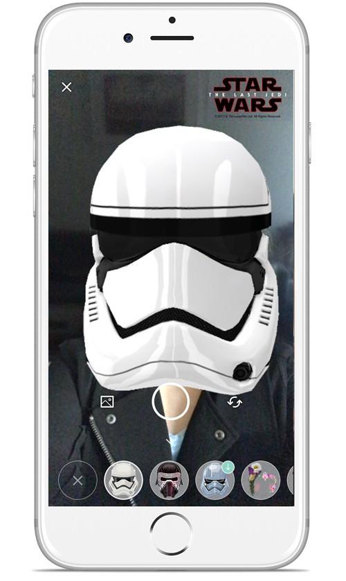 Skype, maschere a tema Star Wars