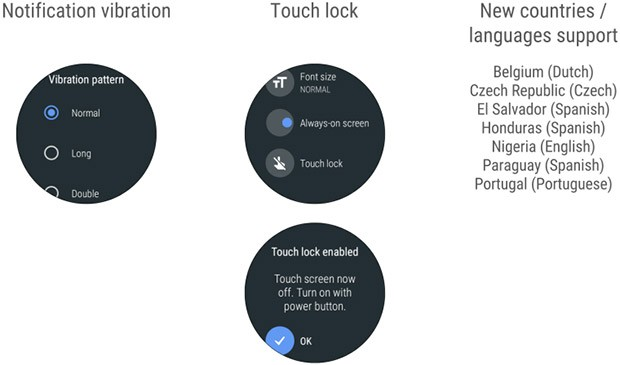 Le novità introdotte da Google nel sistema operativo Android Wear dedicato agli smartwatch