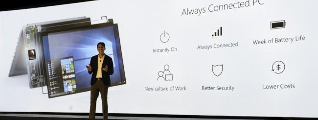Microsoft svela i primi PC Windows 10 ARM