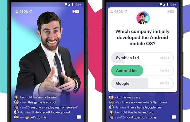 Screenshot per HQ Trivia, il quiz mobile che permette di vincere denaro reale