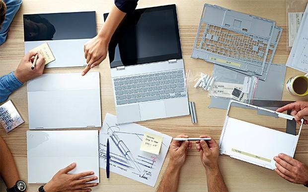 Anche Pixelbook e Pixel Pen sono passati attraverso un lungo processo di progettazione prima di arrivare al loro design finale