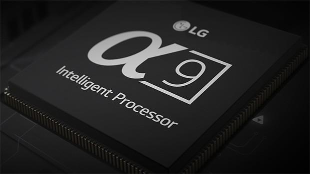 Il processore Alpha 9 che gestisce le operazioni legate all'IA nei nuovi televisori LG ThinQ