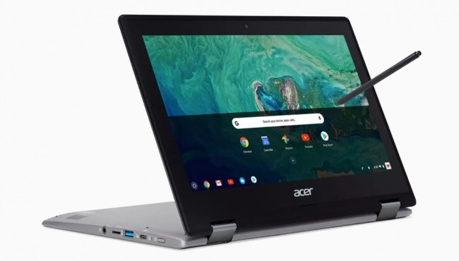 Acer Chromebook Spin 11 supporta Google Play