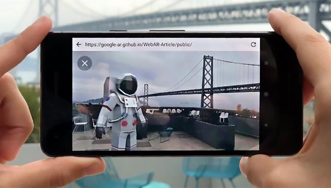 Article: Google e la realtà aumentata nel browser