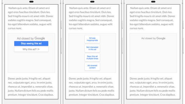 Google permette ora di bloccare la visualizzazione di inserzioni pubblicitarie indesiderate