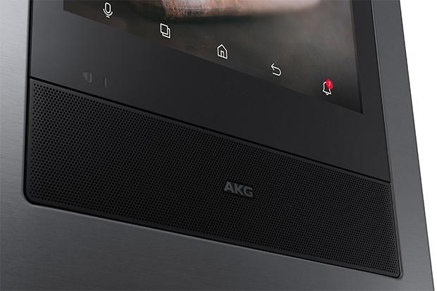 I nuovi frigoriferi Samsung della linea Family Hub integrano un altoparlante AKG