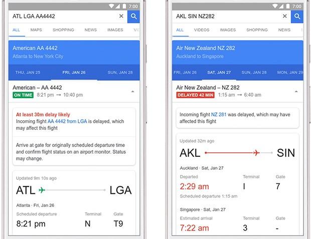 La piattaforma Flights di Google è in grado di prevedere il ritardo di un volo sulla base delle informazioni dei viaggi passati