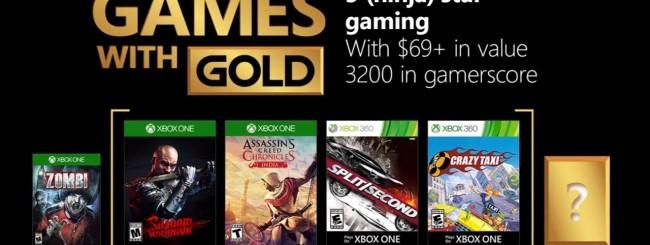 Microsoft annuncia i Games with Gold di febbraio