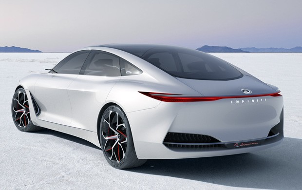 INFINITI Q Inspiration, concept car elettrica
