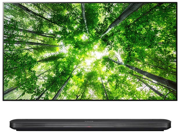 LG SIGNATURE AI OLED TV Picture-on-Wall W8 Series