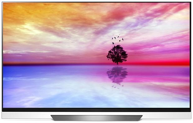 LG AI OLED TV Picture-on-Glass E8 Series