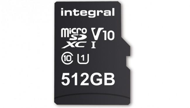 La prima MicroSD da 512 GB, perfetta per il 4K