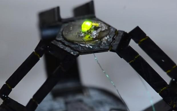 Il robot milliDelta del Wyss Institute ha dimensioni estremamente contenute, ma può gestire movimenti con estrema rapidità e precisione