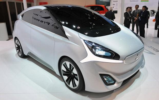 Il concept di Mitsubishi: una vettura senza specchietti