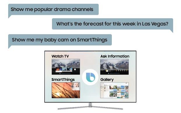 L'intelligenza artificiale dell'assistente Bixby sulle Smart TV di Samsung