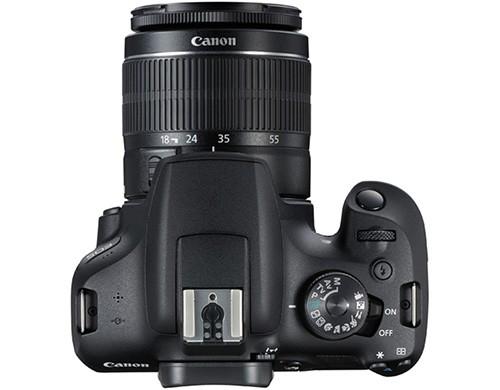 Il design della reflex Canon EOS 2000D