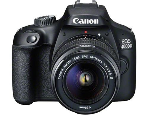 La reflex Canon EOS 4000D