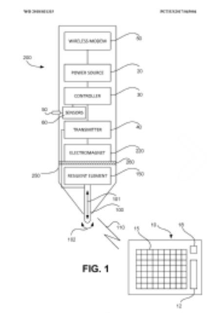 Microsoft ha brevettato una Surface Pen che vibra