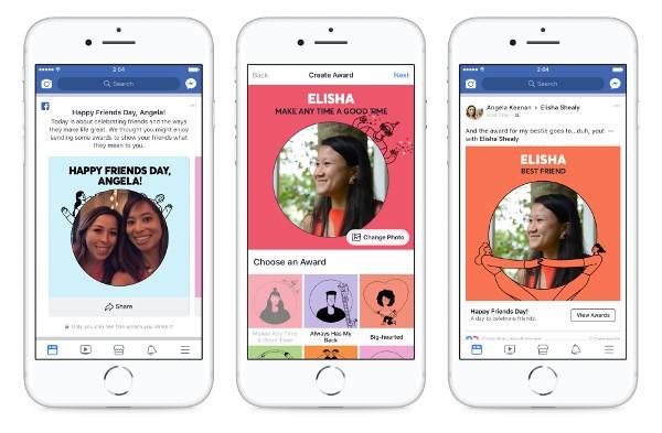 Facebook festeggia il Friends Day