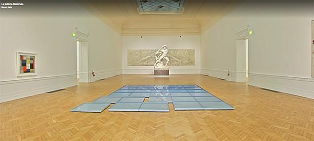 Le sale della Galleria Nazionale d'Arte Moderna e Contemporanea di Roma su Google Arts & Culture