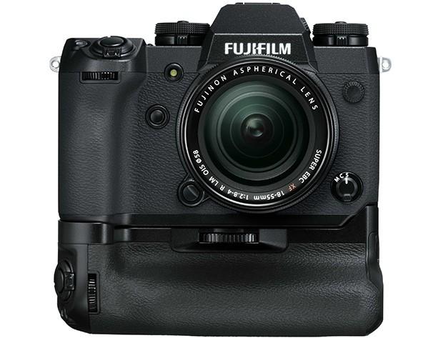 La mirrorless Fujifilm X-H1 con Vertical Power Booster