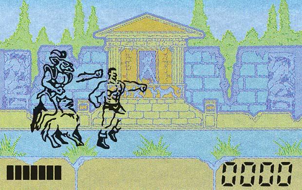 La versione handheld di Altered Beast della Tiger Electronics, commercializzata nel 1990