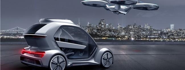Pop.Up Next, il taxi volante di Audi