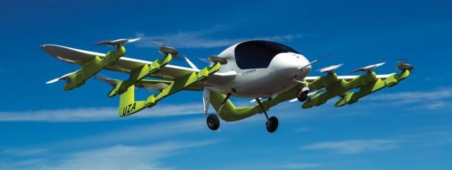Kitty Hawk Cora, il taxi volante di Larry Page