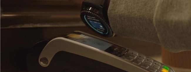 Samsung Pay, si paga con l'orologio