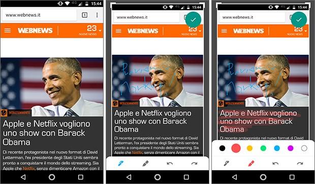 Markup è l'applicazione sviluppata da Google e integrata in Android P per l'editing degli screenshot: grazie al porting dell'APK è comunque già scaricabile e installabile su qualsiasi dispositivo
