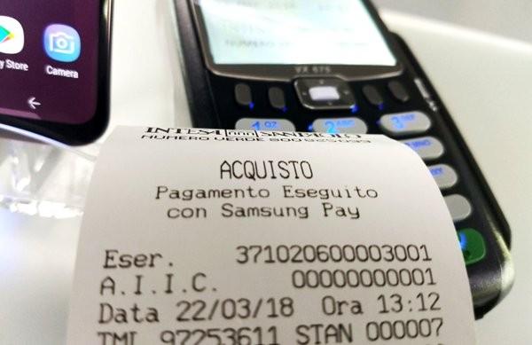 Samsung Pay: il nostro primo pagamento