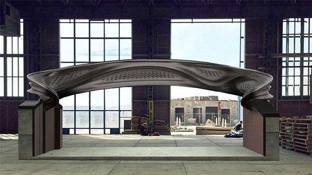 MX3D Bridge, il ponte realizzato con la tecnologia della stampa in tre dimensioni, sarà posato ad Amsterdam