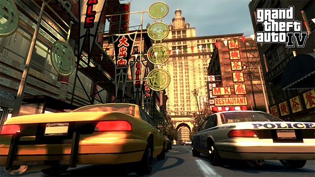 Uno screenshot di GTA 4