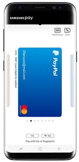 Samsung Pay abbraccia PayPal