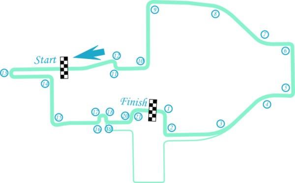 Formula E, circuito di Roma