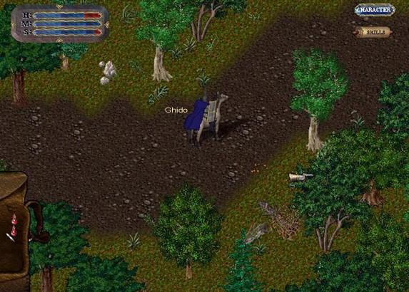 Ultima Online: uno screenshot d'epoca