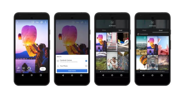 Facebook, archiviazione cloud per foto e video