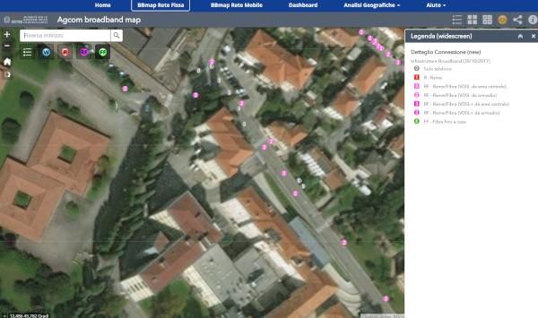 AGCOM, la Broadband Map compie un anno