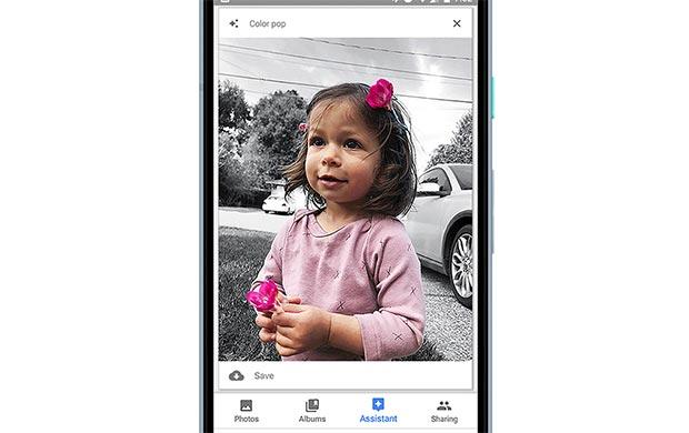 Google Foto: la funzionalità Color Pop