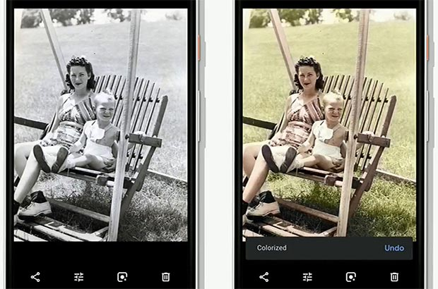 Google Foto: Colorize