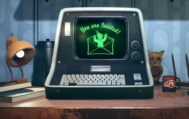 Un frame estratto dal trailer di presentazione di Fallout 76