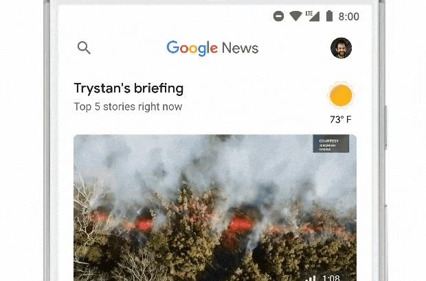 Google News: For You