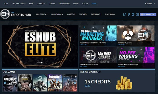Uno degli eSports Hub più frequentati