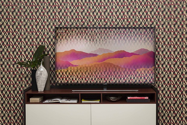 L'Ambient Mode in azione sui nuovi TV QLED di Samsung